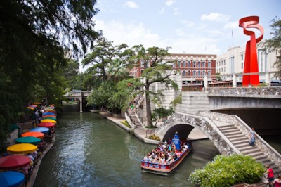 Riverwalk in San Antonio, Texas