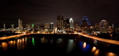 Downtown Austin Texas Night