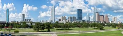 Downtown Austin, Texas Panoramic